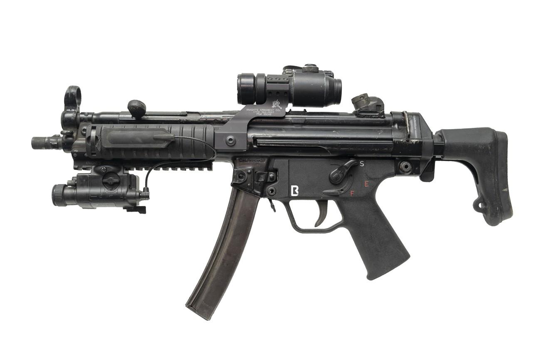 Photo wallpaper German, weapon, Heckler & Koch, MP5J