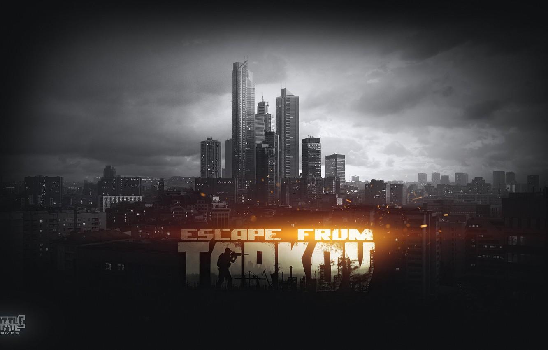 Wallpaper The city, battlestate games, Escape from Tarkov