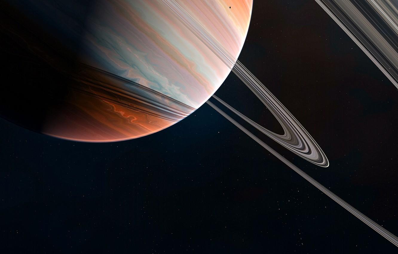 Photo wallpaper Stars, Planet, Space, Ring, Art, Stars, Space, Art, Ring, Planet, Fiction, GrahamTG, Space, by GrahamTG, …