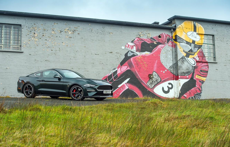 Photo wallpaper Mustang, Ford, 2018, Bullitt