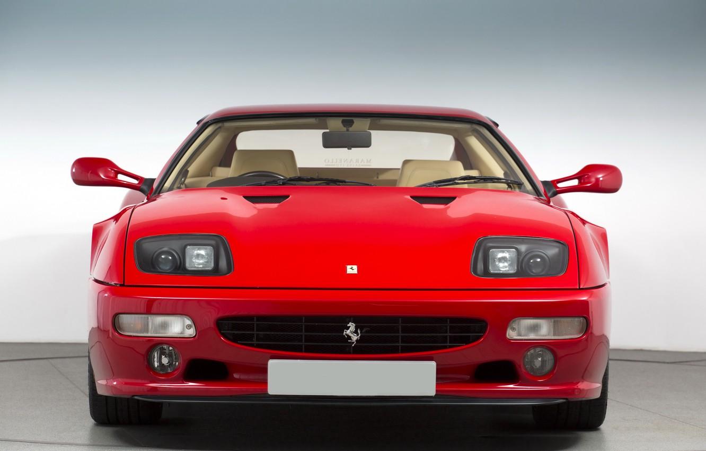 Photo wallpaper Red, Sportcar, Ferrari 512