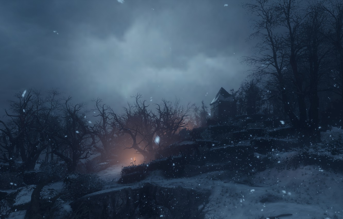 Wallpaper Snow Night A Plague Tale Innocence Images For Desktop