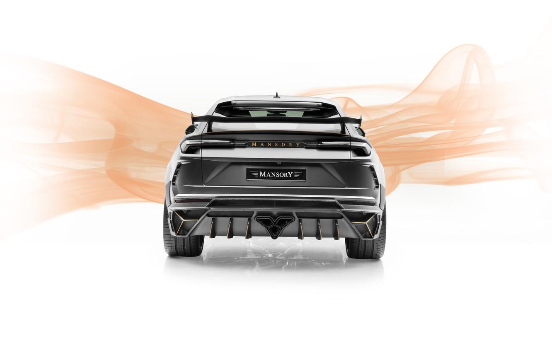 Photo wallpaper Lamborghini, rear view, crossover, Mansory, Urus, 2019, Game