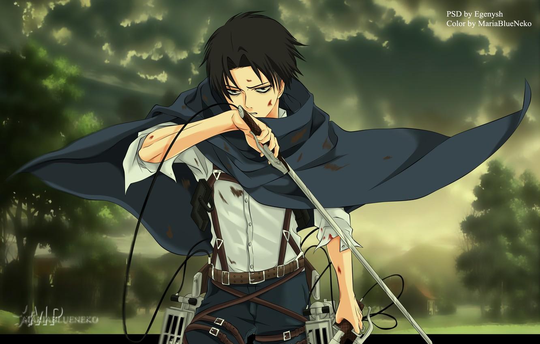 Wallpaper Shingeki No Kyojin Levi Ackerman Attack Of The Titans