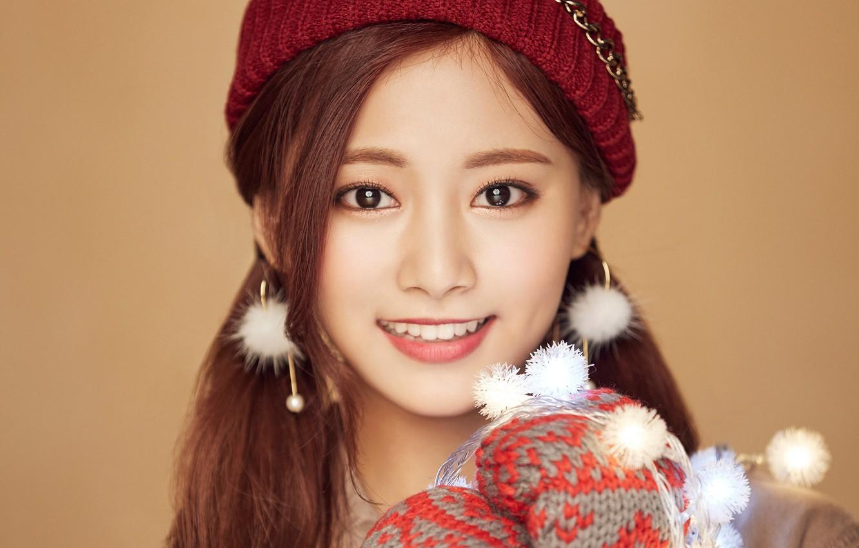 Wallpaper Girl Music Kpop Twice Tzuyu Merry And Happy