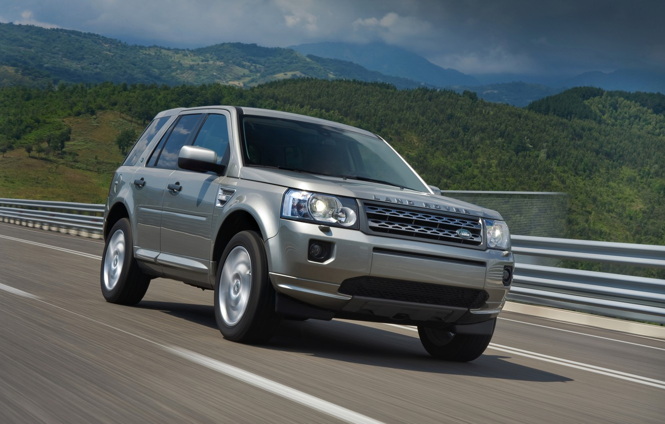 Photo wallpaper track, Land Rover, 2011, crossover, Freelander, SUV, HSE, Freelander 2, LR2, TD4