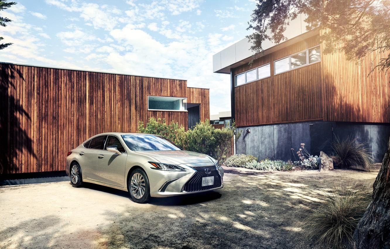 Photo wallpaper Lexus, sedan, Lexus