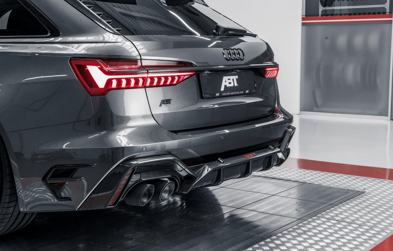 Photo wallpaper Audi, ABBOT, universal, TFSI, feed, RS 6, 2020, RS6-R, V8 Twin-Turbo, RS6 Avant, 4.0 L., …