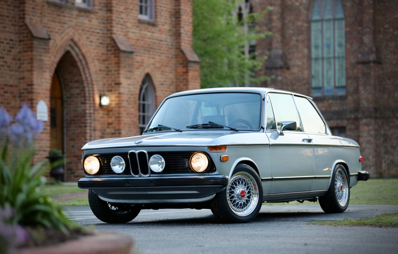 Photo wallpaper BMW, 1976, 2002, E10