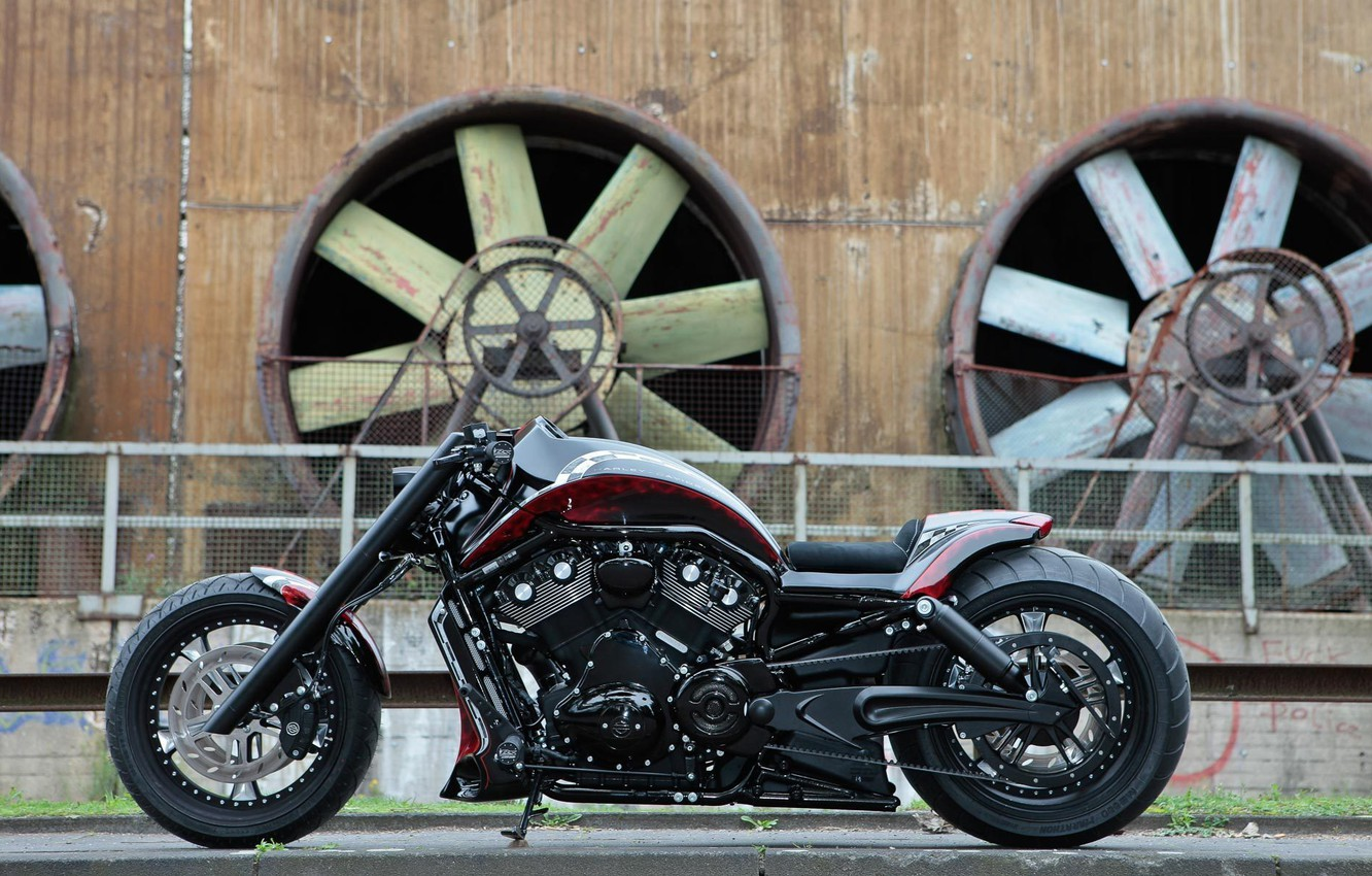 Wallpaper Harley Davidson Night Rod Thunderbike Track Racer Images For Desktop Section Motocikly Download