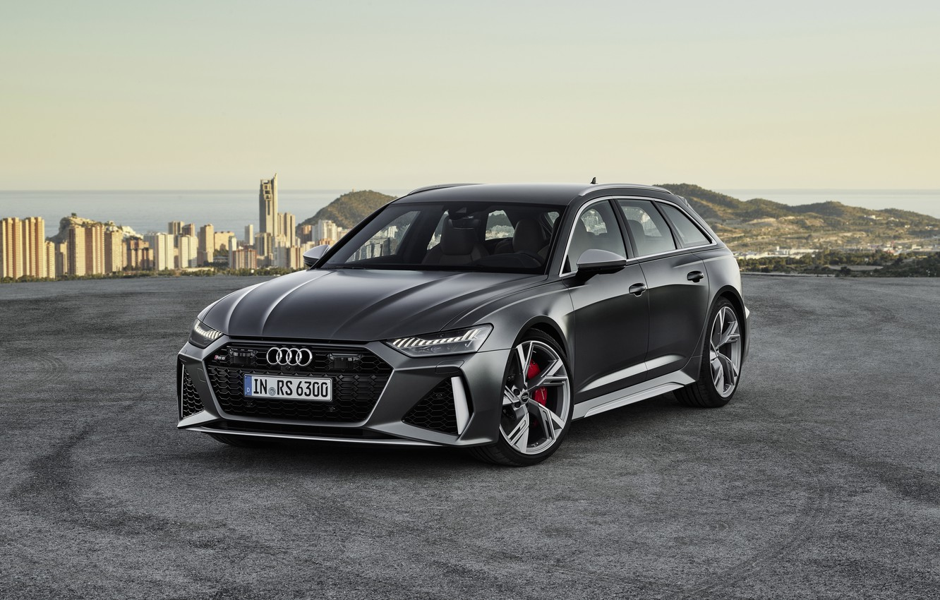 Photo wallpaper Audi, Before, RS6, RS 6, 2019