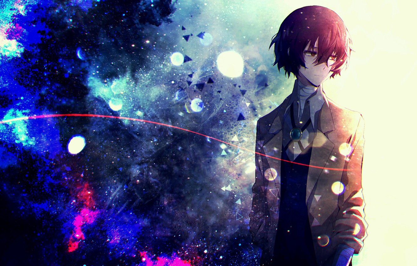 Wallpaper Space Guy Bungou Stray Dogs Stray Dogs A Literary