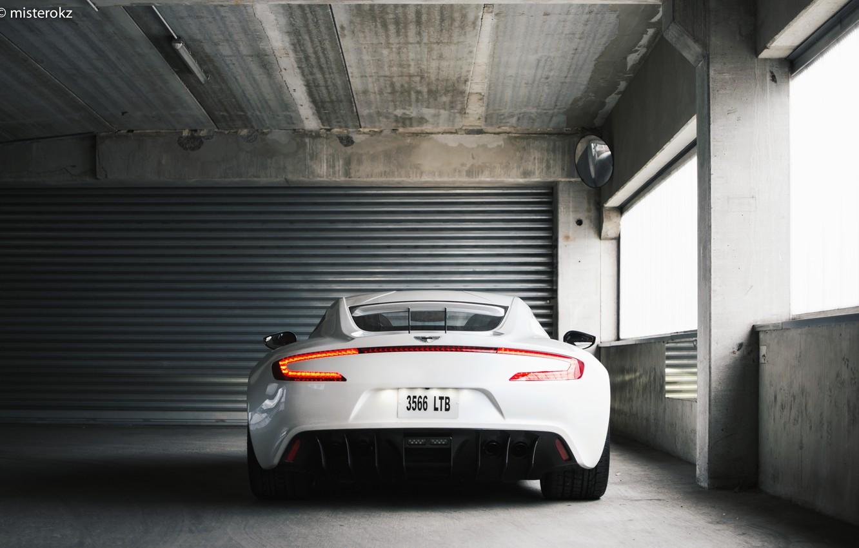 Photo wallpaper White, Supercar, Aston Martin One 77