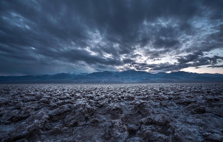 Photo wallpaper nature, Death Valley, Devil's Golf
