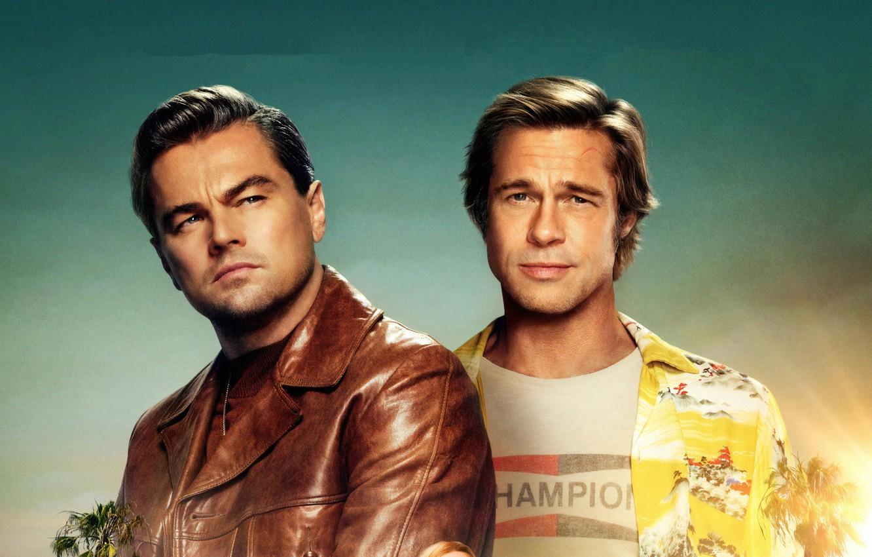 Wallpaper Brad Pitt Brad Pitt Leonardo Dicaprio Leonardo