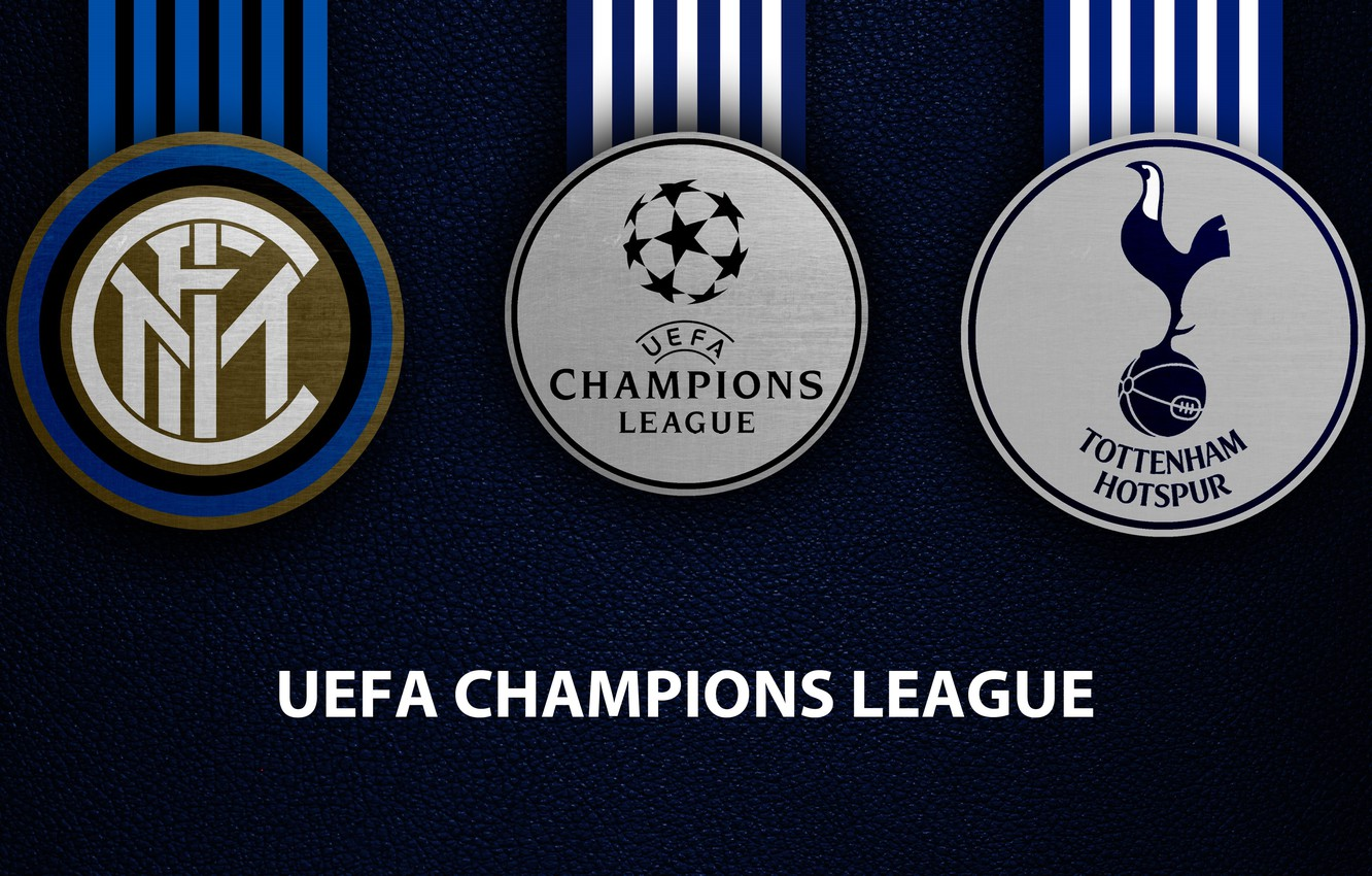 Wallpaper Wallpaper Sport Logo Football Inter Milan Uefa Champions League Tottenham Hotspur International Milan Internazionale Vs Tottenham Hotspur Images For Desktop Section Sport Download