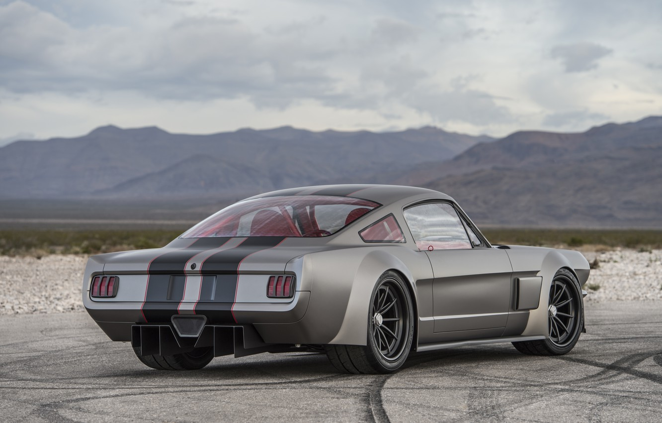 Photo wallpaper Ford Mustang, 1965, Custom, Vicious By Timeless