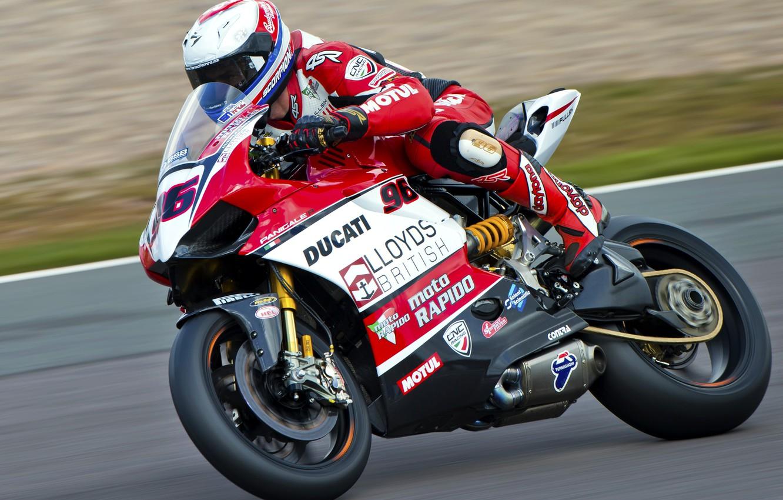 Photo wallpaper bike, racer, Motorsport