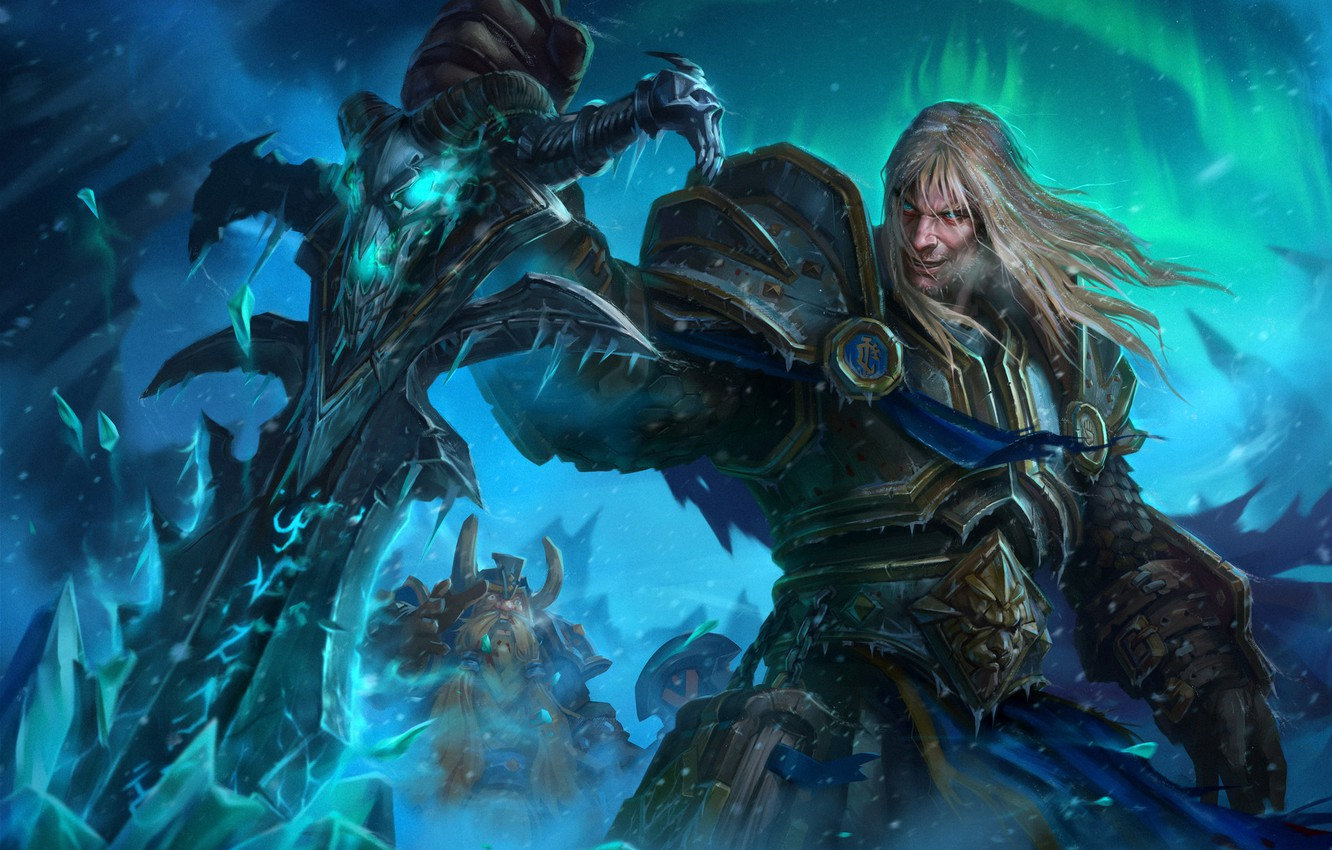 Wallpaper The Game Wow Stormrage Lich King Fantasy
