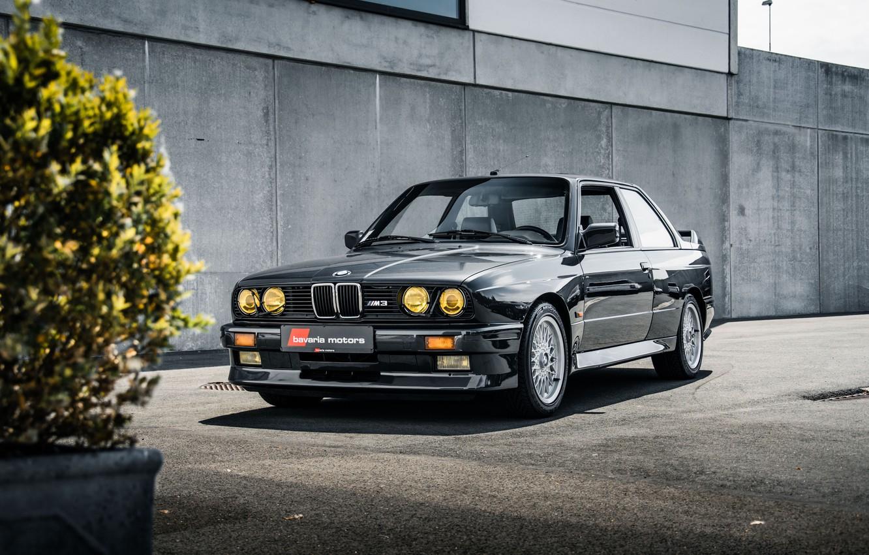 Photo wallpaper BMW, Coupe, E30, 3-Series, M3