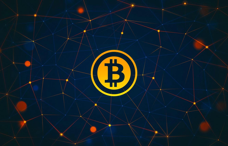 Photo wallpaper logo, logo, fon, bitcoin, bitcoin, btc