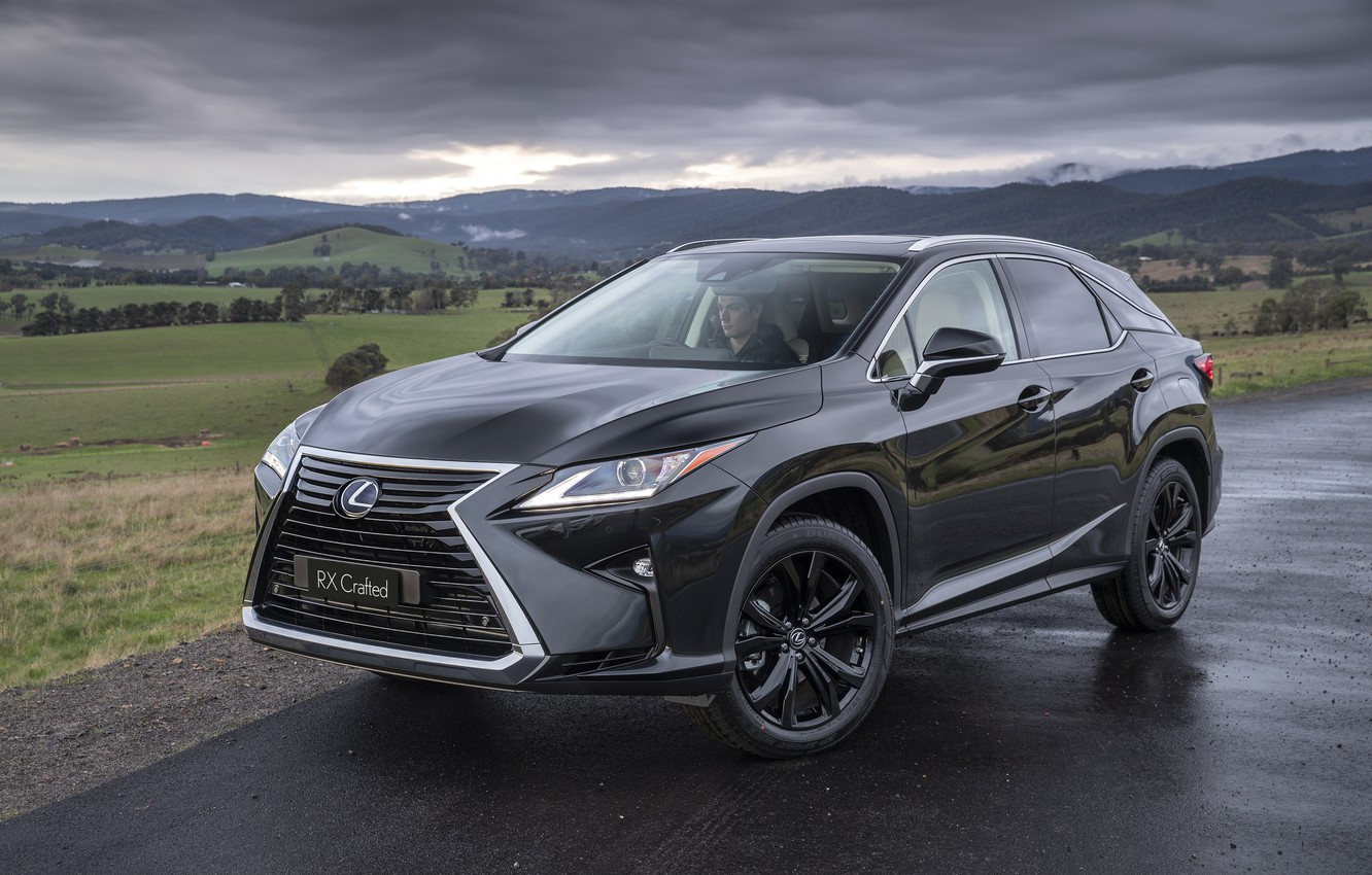 Photo wallpaper Lexus, RX 350, 2019, Crafted