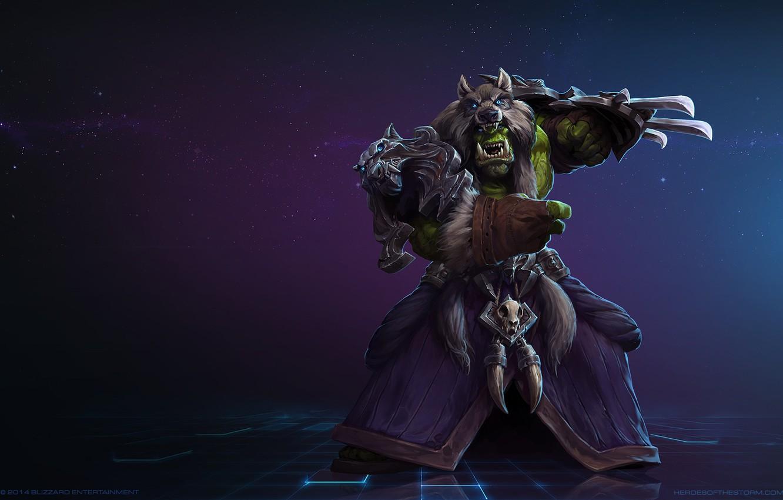 Wallpaper Blizzard Orc Warrior Gladiator Warcraft Mr Jack