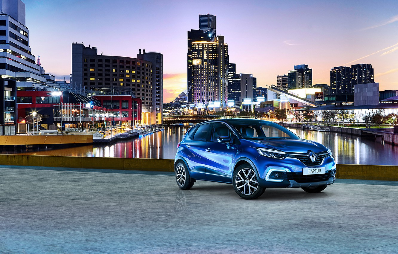 Photo wallpaper Renault, Captur, S-Edition