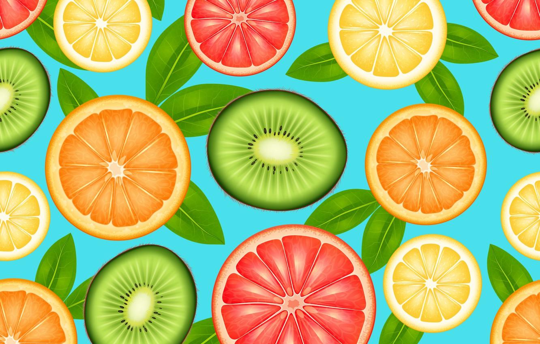 Photo wallpaper background, orange, kiwi, Orange, Wallpaper, citrus