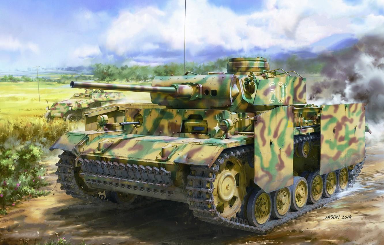 Photo wallpaper Tank, APC, Tank weapon, The Wehrmacht, Panzerkampfwagen III, PzKpfw III, Sd Kfz 251