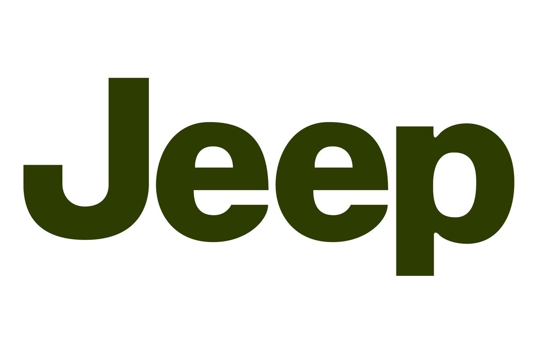 Photo wallpaper background, green, logo, jeep, logo, jeep, fon
