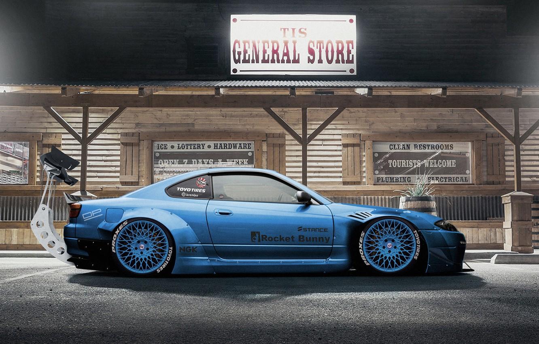 Photo wallpaper Auto, Machine, Tuning, S15, Silvia, Nissan, Rendering, Nissan Silvia, Nissan Silvia S15, Side view, Dmitry …