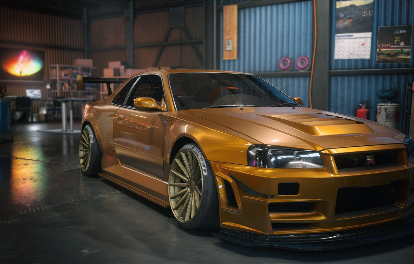 Photo wallpaper need for speed, gtr, payback