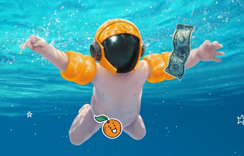 Photo wallpaper Music, Cover, Monstercat, Half an Orange, Sunscreen