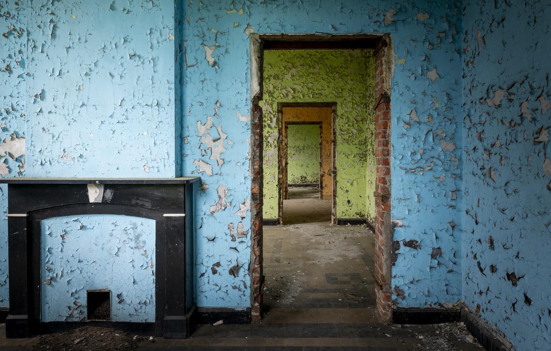 Photo wallpaper room, wall, naturalism