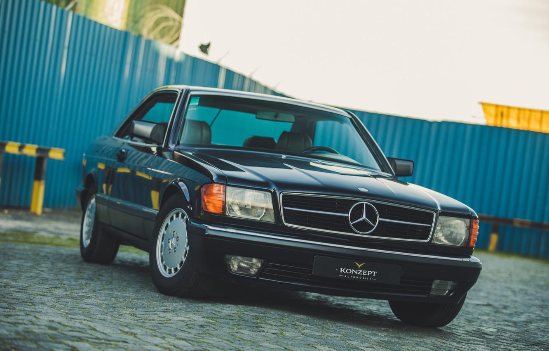 Photo wallpaper Mercedes-Benz, Coupe, C126, 560SEC