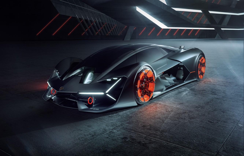 Photo wallpaper Lamborghini, supercar, hypercar, The Third Millennium
