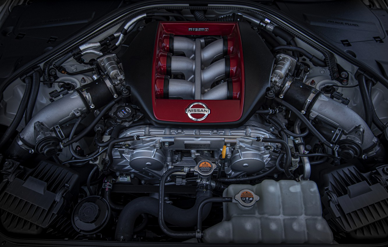 Photo wallpaper Nissan, GT-R, motor, R35, Nismo, 2020, 2019
