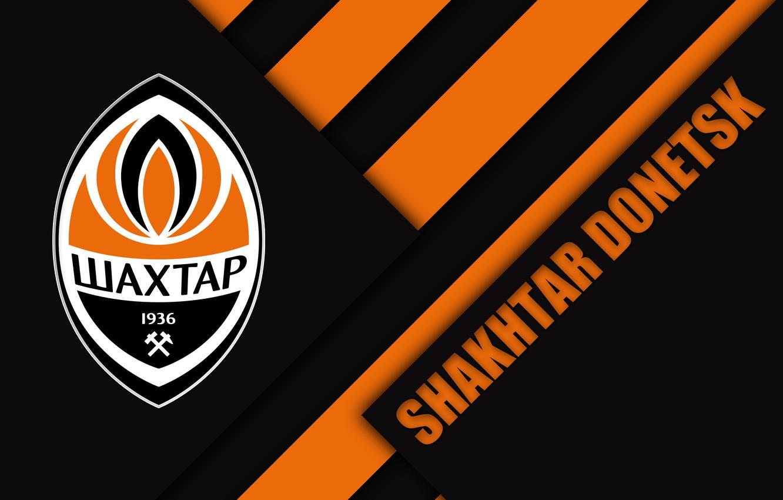 Photo wallpaper Logo, Football, Sport, Soccer, FC Shakhtar Donetsk, Emblem, Ukrainian Club