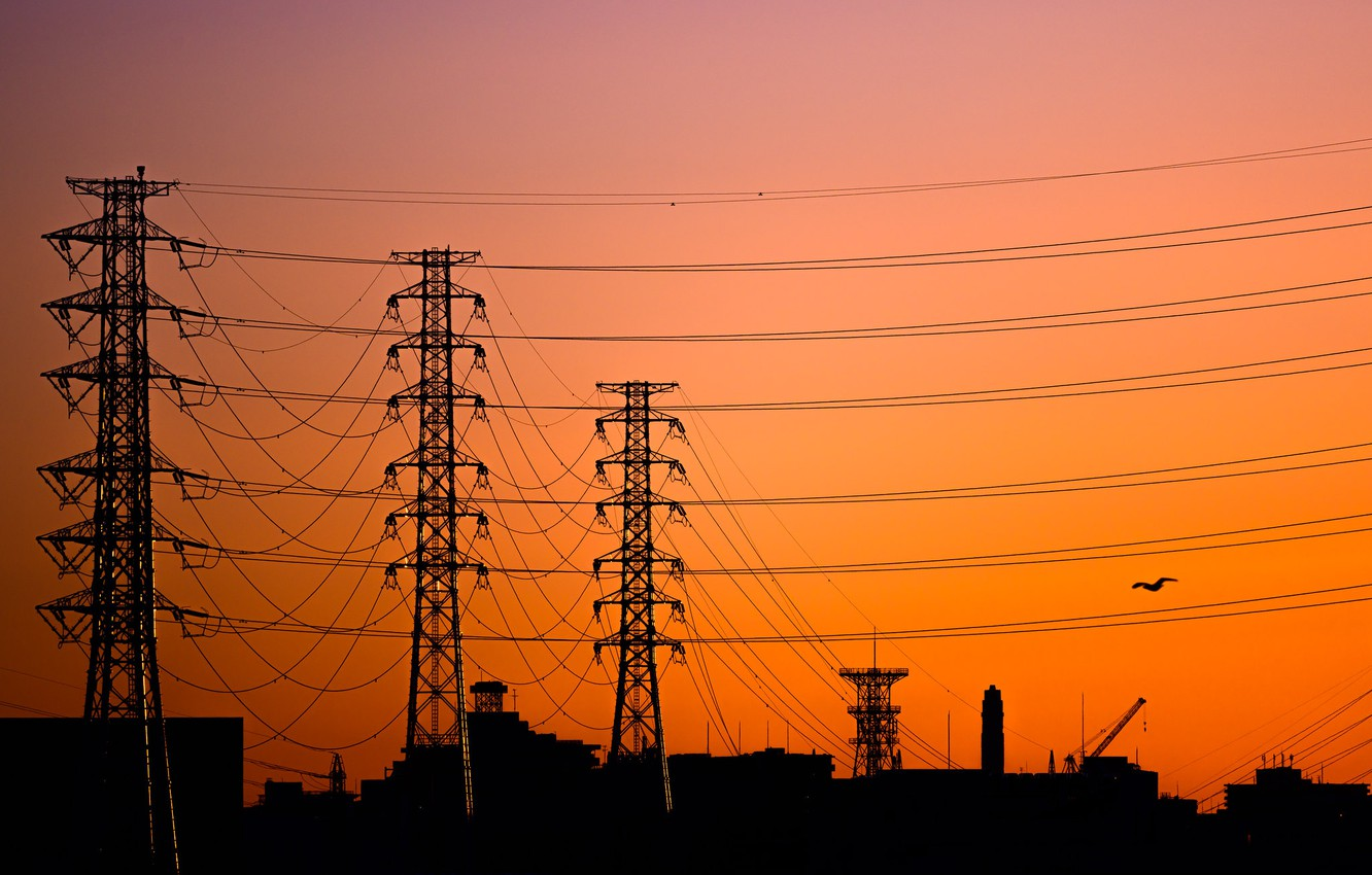 Wallpaper Dawn Wire Morning The Tower Images For Desktop Section Pejzazhi Download