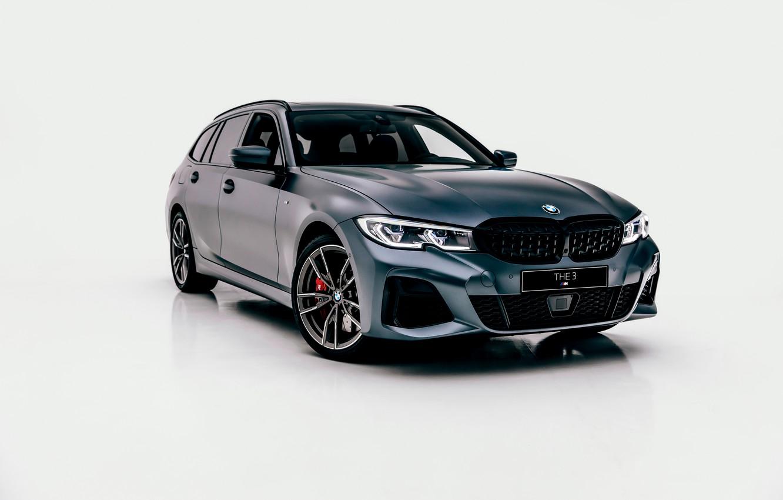 Photo wallpaper background, BMW, 3-series, universal, 3P, 2020, before, G21, M340i xDrive Touring