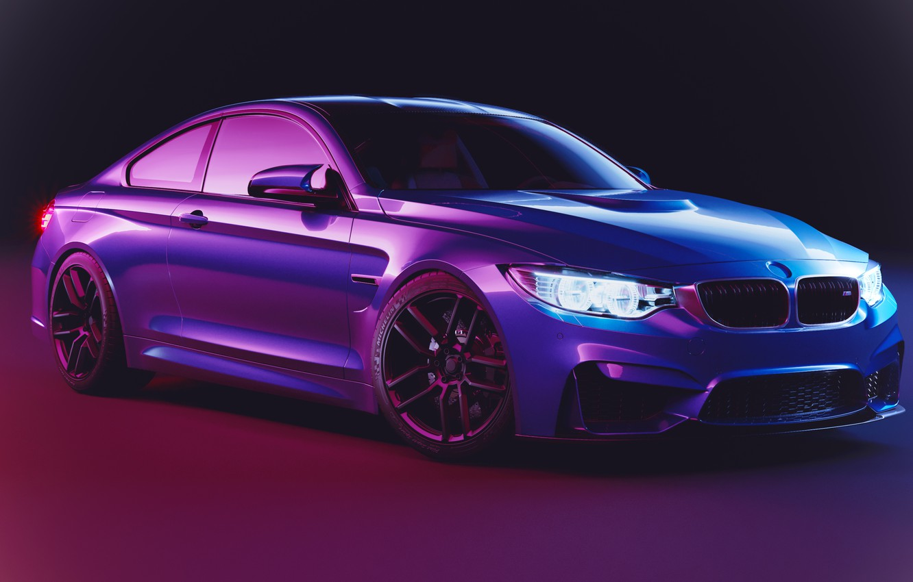 Photo wallpaper Coupe, F82, BMW M4
