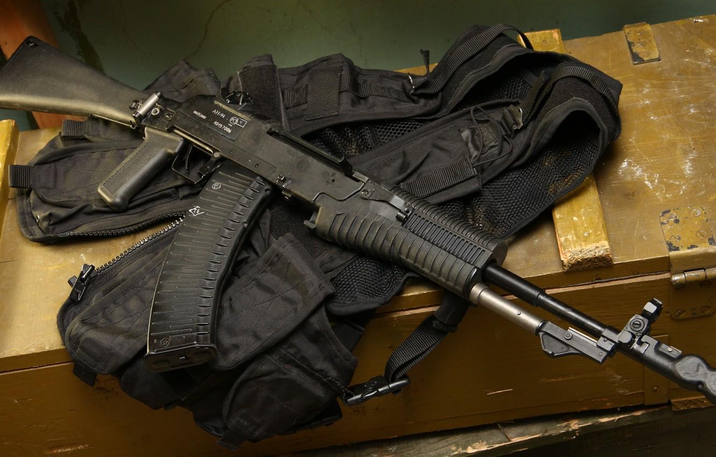 Photo wallpaper An-94 assault rifle, Abakan, An-94