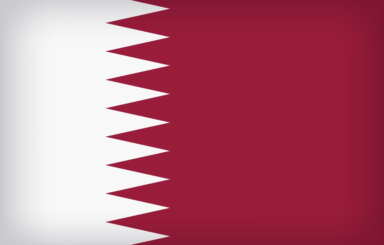 Photo wallpaper Flag, Qatar, Qatari, Qatar Large Flag, Flag Of Qatar