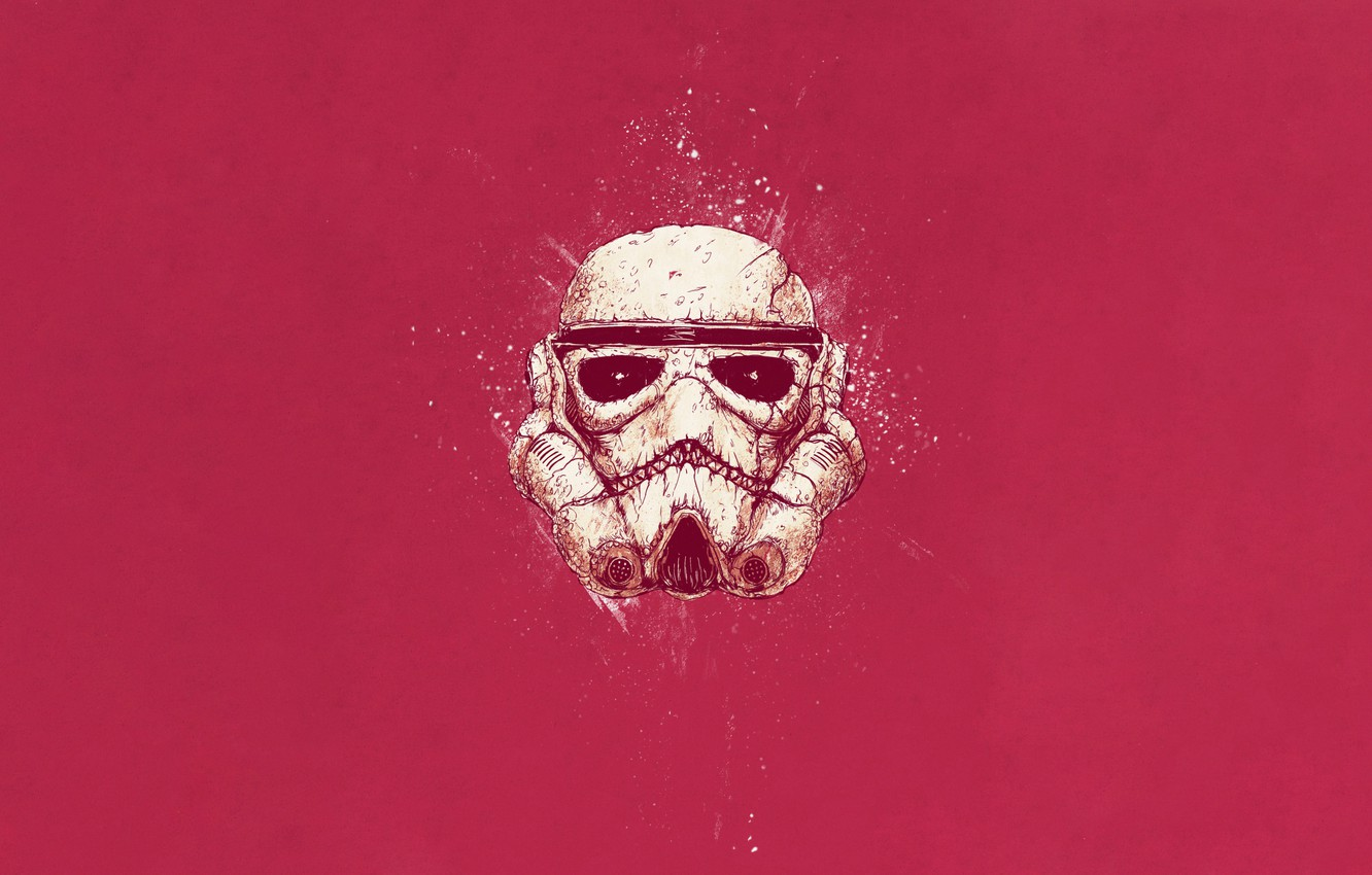Wallpaper Color Minimalism Star Wars Style Helmet Background Soldiers Art Art Star Wars Style Background Helix Minimalism Attack Stormtrooper Images For Desktop Section Minimalizm Download