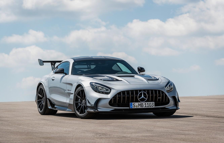 Photo wallpaper Mercedes, AMG, C190, 2020, Worldwide, GT Black Series