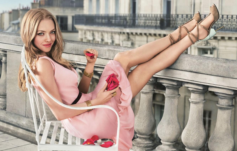 Wallpaper look, pose, model, makeup, actress, singer, legs, hair, Amanda  Seyfried, Amanda Seyfried images for desktop, section девушки - download