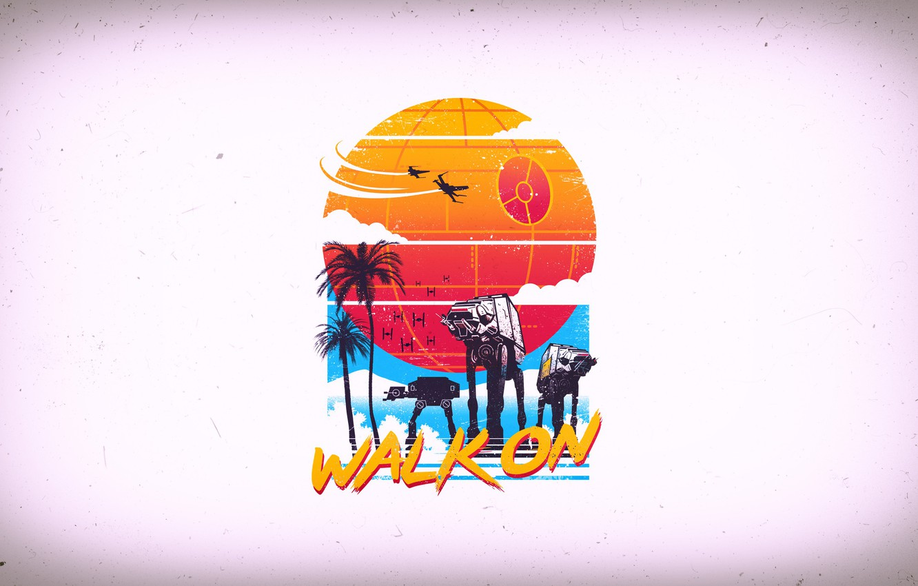 walk on retro take on the beach vibe of scarif star wars at