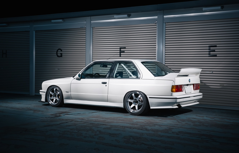 Photo wallpaper BMW, E30, m3