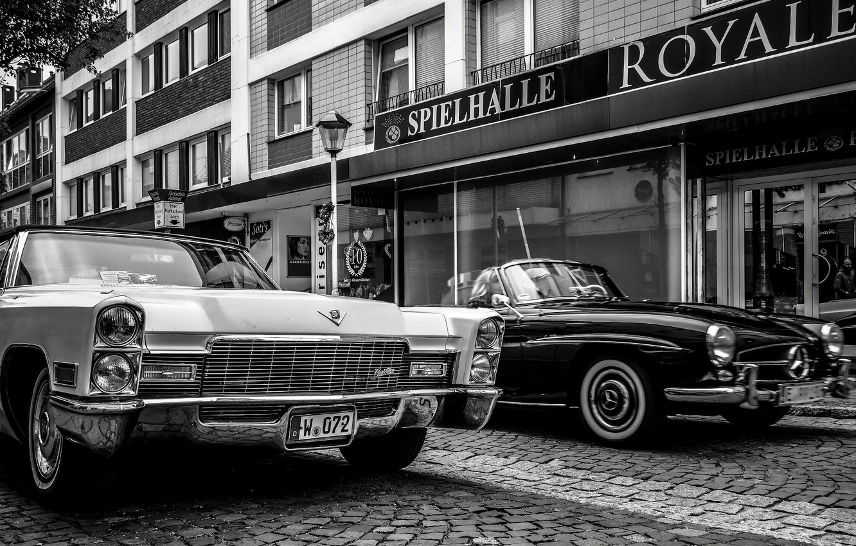 Photo wallpaper German, cars, classic